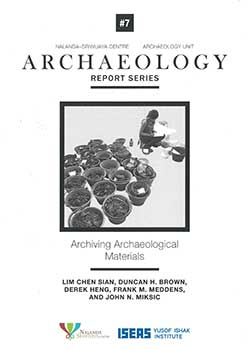 Archiving Archaeological Materials
