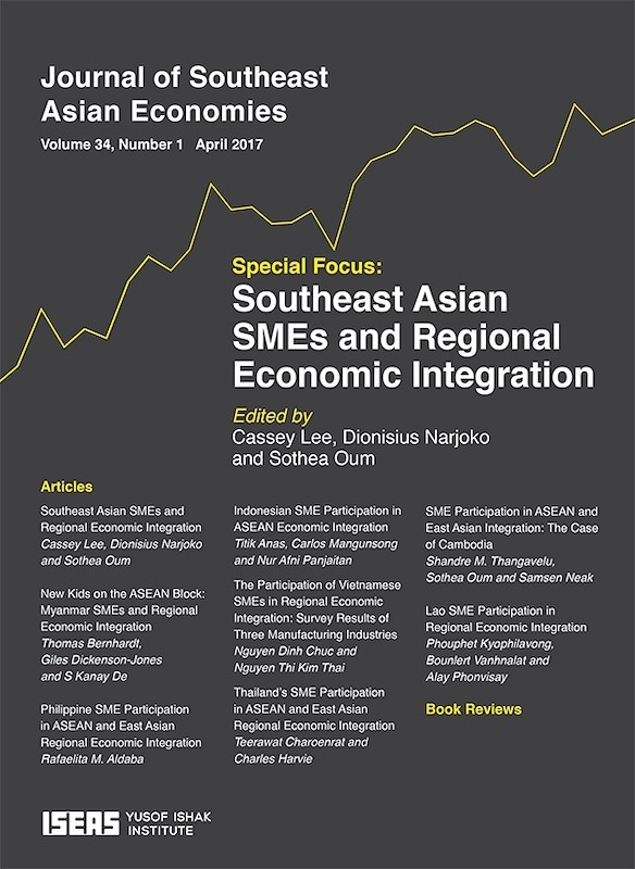 Journal of southeast asian economies vol 341 apr 2017 special journal of southeast asian economies vol 341 apr 2017 special focus on southeast asian smes and regional integration malvernweather Image collections