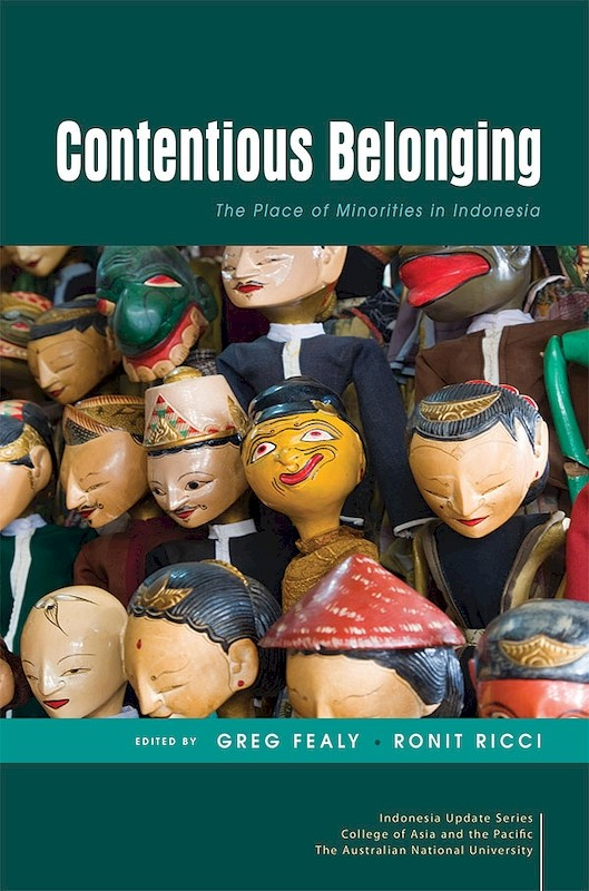 Contentious Belonging: The Place of Minorities in Indonesia book cover